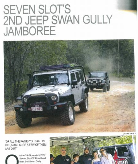 Seven Slot 2nd Jeep Swan Gully