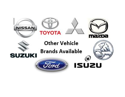 Other Vehicle Brands Available