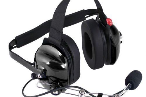 H42 Black 2-Way Radio Headset